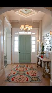 inside front door colors. Paint The Inside Of Your Front Door A Different Color To Create Beautiful Focal Point In Foyer. Colors
