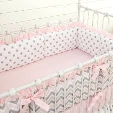 pink and white damask crib bedding full size of nursery grey black