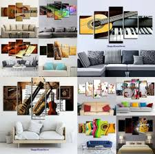 Chart Holder Tube Price Instruments Painting 5p Canvas Print Music Motivation Poster Wall Art Gift Decor