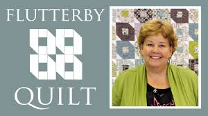 The Flutterby Quilt: Easy Quilting Project with Jenny Doan of ... & The Flutterby Quilt: Easy Quilting Project with Jenny Doan of Missouri Star  Quilt Co - YouTube Adamdwight.com