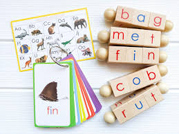The international phonetic alphabet (ipa) is an alphabetic system of phonetic notation based primarily on the latin script. Spin And Read Montessori Reading Blocks Cvc Flashcards Basic Set Little Bud Kids