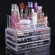 clear acrylic makeup organizer tezkar