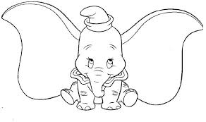 Dumbo Coloring Pages Dumbo Coloring Pages Free Dumbo Coloring Pages