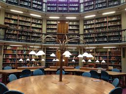 file round reading room from centre round table jpg