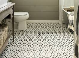 retro mosaic flooring vintage bathroom tile floor patterns