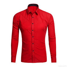 Mens Design Dress Shirts 2019 Men Clothing New Style Mens Shirt Designer Casual Dress Shirts Plain Stripe Stylish Dress Slim Fit Long Sleeve Candy Colors 017 From Melody0119