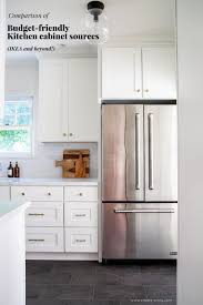 Comparison Of Budget Friendly Kitchen Cabinet Sources Ikea And