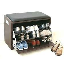shoe storage ottoman bench. Shoe Storage Ottoman Bench Amazing Elegant To
