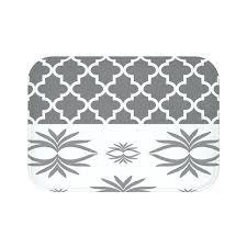 moroccan bath rug trellis pattern bath mat