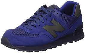 new balance blue. new balance men\u0027s 574 urban twilight pack fashion sneakers, basin, blue