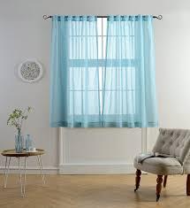 window curtain ideas blue