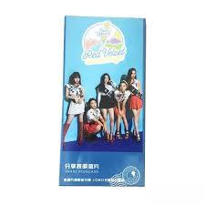 Postcard Red velvet hộp ảnh nhóm nhạc red velvet kèm ảnh dán lomo nhóm nhạc  idol Hàn quốc