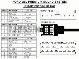 2000ford_mustang_sterio_mach 1000_wiring_diagram 2001 2004 mustang factory radio diagram to upgrade stereo on 2001 ford mustang stereo wiring diagram