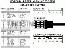 2001 2004 mustang factory radio diagram to upgrade stereo 2000 ford f250 radio wiring diagram at 2000 Ford Radio Wiring Diagram