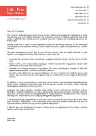 Cover Letter Template Free Download