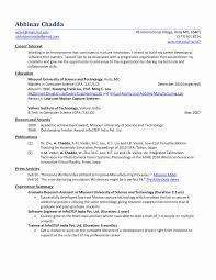 Resume Format For Mba Marketing Fresher Unique Mba Fresher Resume