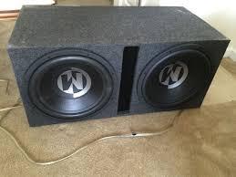 speakers in box. memphis car audio 2 15\ speakers in box
