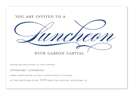 corporate luncheon invitation wording invited to lunch corporate invitations by invitation consultants