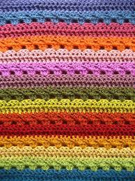 Crochet Blanket Pattern Custom Relaxing Rainbow Crochet Blanket AllFreeCrochet