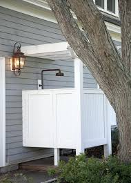 outdoor shower enclosure ideas traditional patio by outdoor shower stall ideas