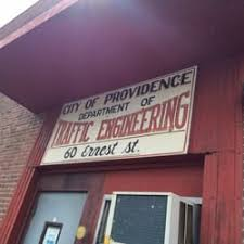 City of Providence Department of Traffic Engineering - Registration ...