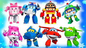 Robocar Poli coloring pages for kids // Super Wings coloring pages ...