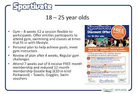 ppt cherwell dc sportivate powerpoint