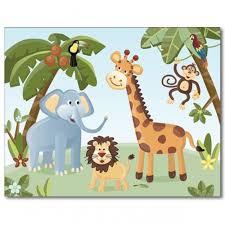 nursery wall art print jungle safari animals on safari animal wall art with nursery wall art print jungle safari animals safari animals