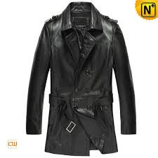 short leather trench coats cw850812 cwmalls com