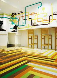 astounding multicolored mexican restaurant design ideas in london mexican restaurant interior design with multicolored herringbone