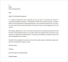 thank you letter appreciation appreciation letter to employees the letter sample
