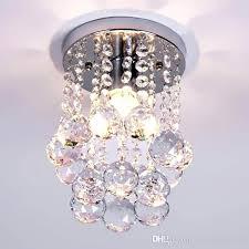 flush mount mini chandeliers mini style 1 light flush mount crystal chandelier spiral rain drop crystal flush mount mini chandeliers