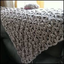Chunky Yarn Blanket Crochet Pattern