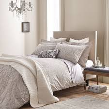 bianca 100 cotton soft textured cotton jacquard duvet cover set natural