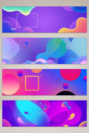 free banner backgrounds spring creative gradient banner background free download at pikbest