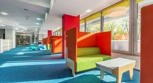 office seating area. Comfortable Soft Office Seating Area E