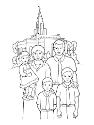 Small Picture Temple SealingFamily With Lds Coloring Pages Family esonme