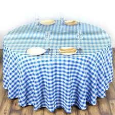 red gingham round plastic tablecloths inch tablecloth
