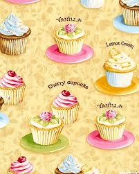 Confections Cupcake Bakery Lt Honey Wallpaper Cupcakes