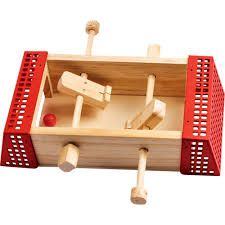 Miniature Wooden Foosball Table Game Junior Mini Soccer Hobby Kit for Children Rockler toys 41
