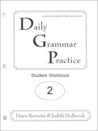 Daily Grammar Practice Student Workbook Grade 2 (059596) Details ...