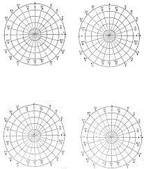 Polar Graph Paper Printable Circle Template Pie