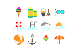 Summer Icons Summer Icons Set