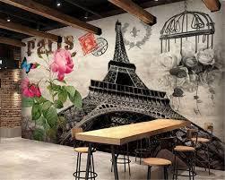 Paris Bedroom Wallpaper Online Buy Wholesale Paris Tower Bedroom Wallpaper From China