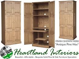 traditional hidden home office. Solid Pine Deskhandcrafted Triple Computer Hideaway Desk 2017 Including Images Traditional Hidden Home Office