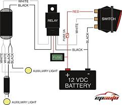 light bar wiring diagram prepossessing led harness boulderrail org Nilight Wiring Harness Install amazon com epauto led light bar wiring harness kit 40a relay brilliant led nilight wiring harness install