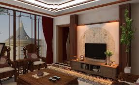 Living Room Wood Furniture Living Room Wooden Furniture And Tv Interior Design
