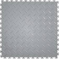 black and white diamond tile floor. Free Shipping - See Exceptions Perfection Floor Tile Diamond Pattern Light Grey Black And White