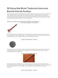 Senar tentu bagian dari alat musik popondi yang akan dipetik, tempurung kelapa digunakan sebagai lubang resonansi seperti pada gitar akustik, dan kayu digunakan sebagai badan alat musik popondi atau talindo. Gambar Alat Musik Tradisional Beserta Namanya Dan Cara Memainkannya Siswapelajar Com