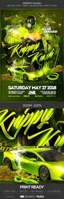 trap reggaeton flyer krippy kush hip hop rap trap reggaeton party flyer by